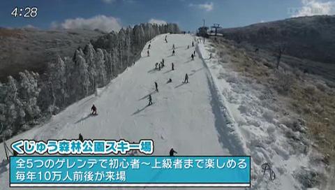 くじゅう 森林 公園 スキー 場
